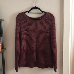 ROXY maroon sweater